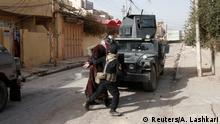 Irakische Spezialeinheiten verhaften einen mutmaßlichen IS-Anhänger