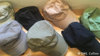 Hats in Fresh Cuts store