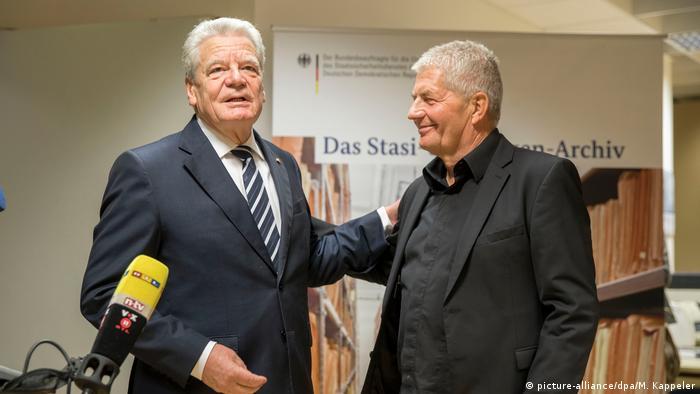 Joachim Gauck i Roland Jahn