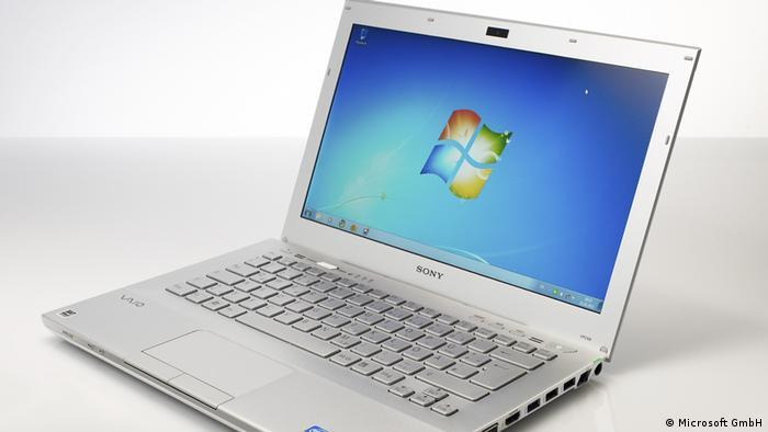 Ноутбук с Windows 7