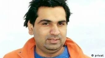 Pakistani blogger in exile Ahmad Waqass Goraya