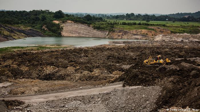 Indonesien Kohleabbau in der Stadt Samarinda