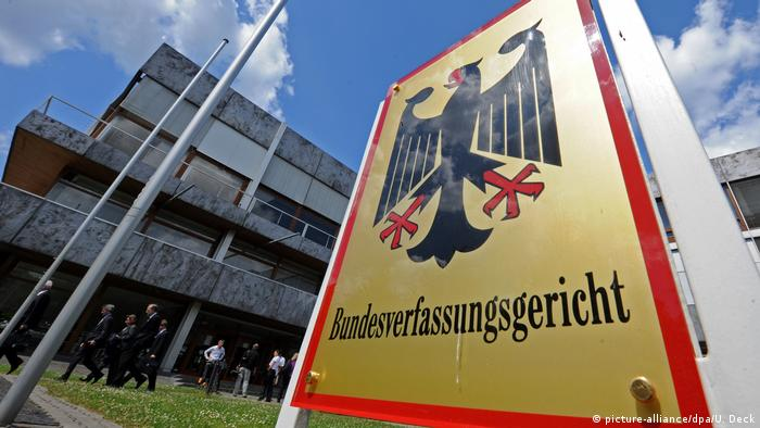 Bundesverfassungsgericht in Karlsruhe (picture-alliance/dpa/U. Deck)
