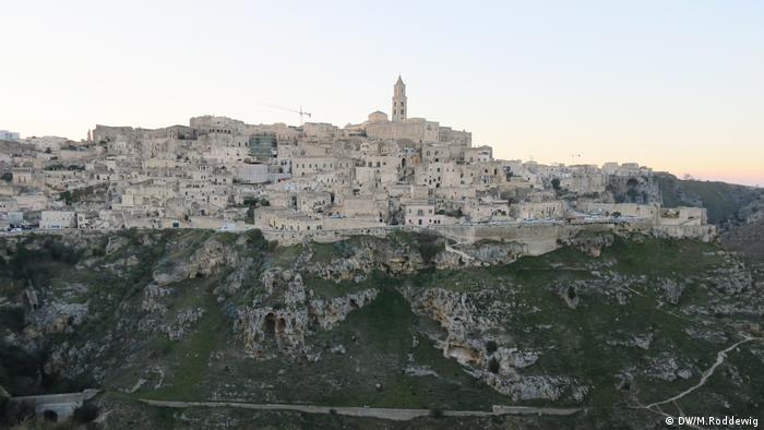 view of Matera (DW/M.Roddewig)