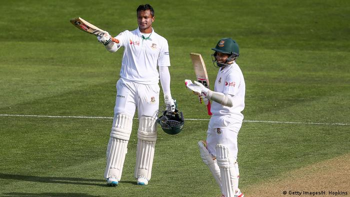Bangladesh - Cricketspieler Shakib Al Hasan & Mushfiqur Rahim (Getty Images/H. Hopkins)