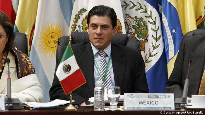 Mexiko Geronimo Gutierrez (Getty Images/AFP/A. Estrella)