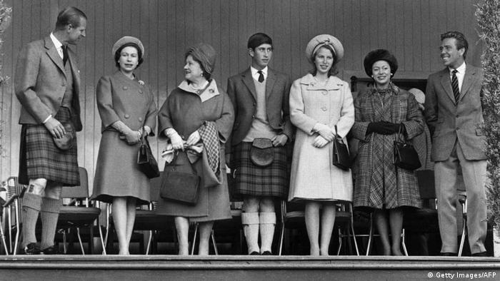 Großbritannien könligliche Familie 1965 mit Lord Snowdon (Getty Images/AFP)