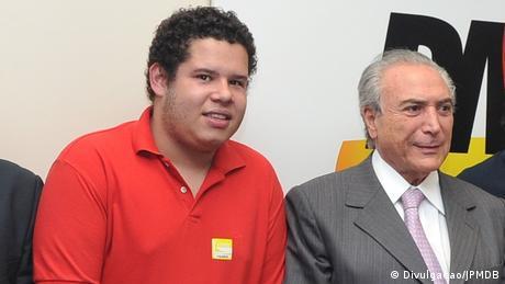 Bruno Júlio e Michel Temer