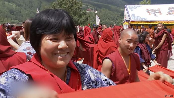 Doku Screenshot aus Bhutan - Hauptsache glücklich (MDR)