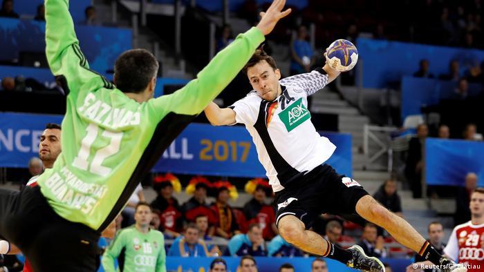 Handball WM in Frankreich - Spiel Deutschland vs. Ungarn | Patrick Groetzki (Reuters/C. Platiau)
