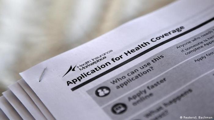 Заява на медстрахування, реформа, Obamacare