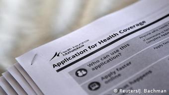 USA Anträge für 'Obamacare'-Programm