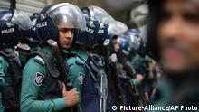 Polizei in Bangladesch