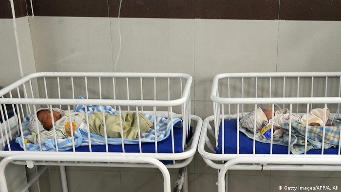Pakistan Krankenhaus Säuglingsstaion