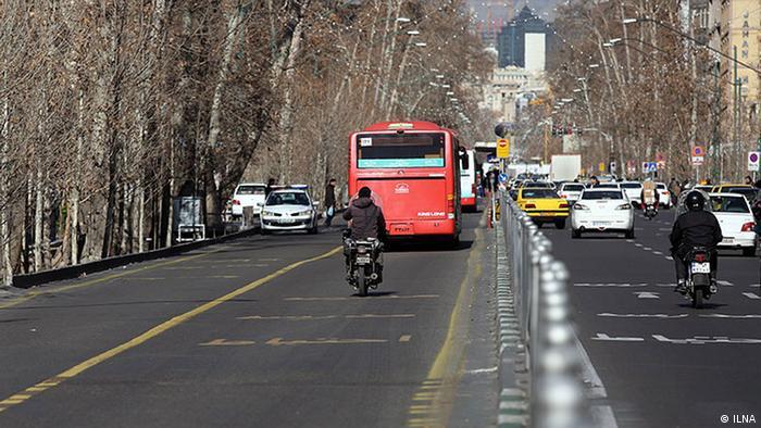 Motorradfahren im Iran (ILNA)