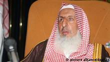 Saudi Arabien Der Großmufti Abd al-ʿAzīz Āl asch-Schaich (picture alliance/dpa/Str)