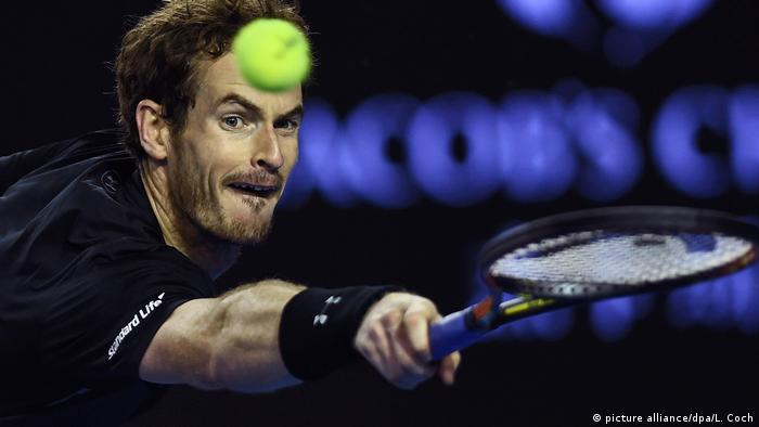 Australien Andy Murray (picture alliance/dpa/L. Coch)