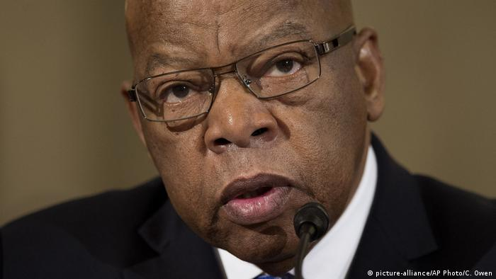 Bürgerrechtler John Lewis (picture-alliance/AP Photo/C. Owen)