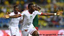 Fussball Africa Cup 2017 - Burkina Faso vs Kamerun Tor