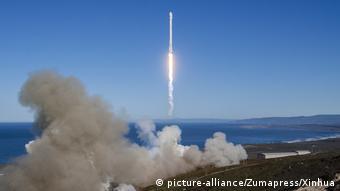USA Start der Space-X Falcon 9