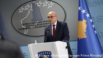Spannungen zwischen Servien und Kosovo (picture-alliance/AA/Kosovan Prime Ministry)