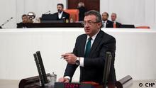 Türkei der Abgeordnete der Republikanischen Volkspartei Engin Altay