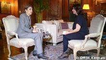 Frankreich Interview mit Farah Diba Pahlavi