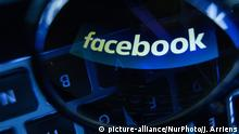 Social Media - Facebook (picture-alliance/NurPhoto/J. Arriens)