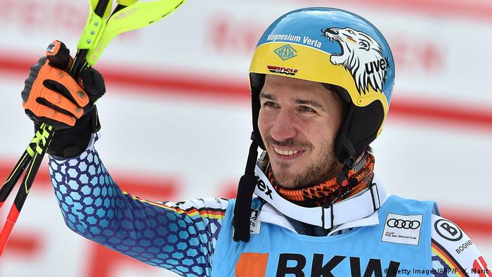 Ski Alpin Slalom Männer Wengen Schweiz Felix Neureuther (Getty Images/AFP/F.-X. Marit)