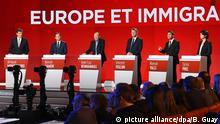 Frankreich TV-Debatte