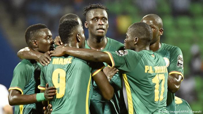 Gabun Africa Cup of Nations 2017 Tunesien gegen Senegal