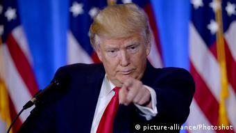 US Präsident Donald Trump (picture-alliance/Photoshot)