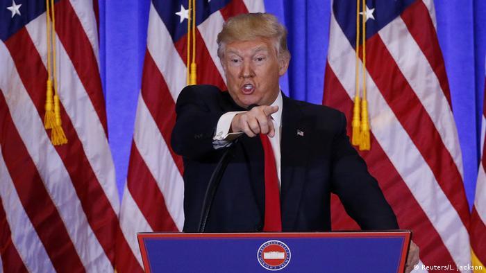 US Präsident Donald Trump (Reuters/L. Jackson)