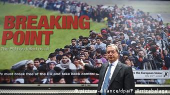 Nigel Farage Brexit Poster