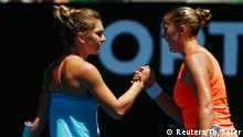 Tennis Australian Open Melbourne Park Shelby Rogers vs. Simona Halep (Reuters/Th. Peter)