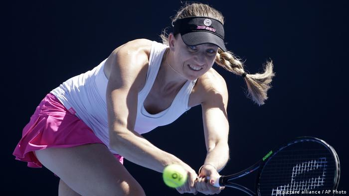 Australian Open Tennis Mona Barthel (picture alliance / AP Photo)