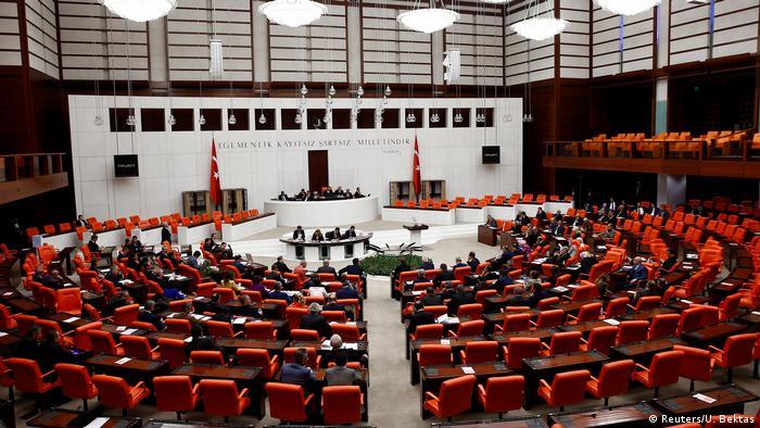 Türkei Parlament in Ankara (Reuters/U. Bektas)