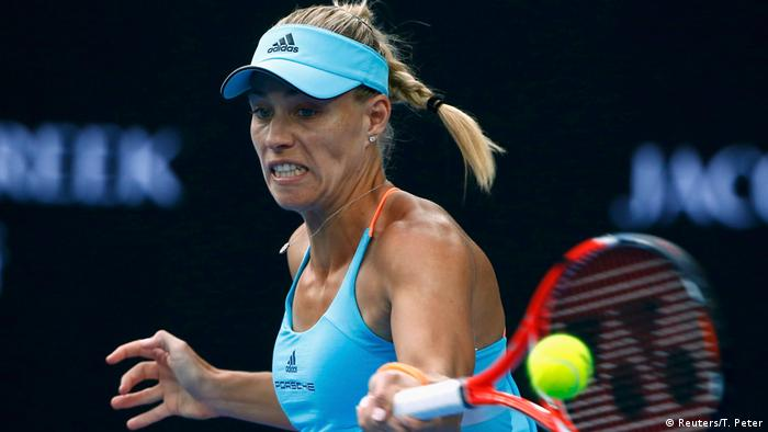 Australian Open Tennis - Angelique Kerber vs. Lesja Zurenko (Reuters/T. Peter)