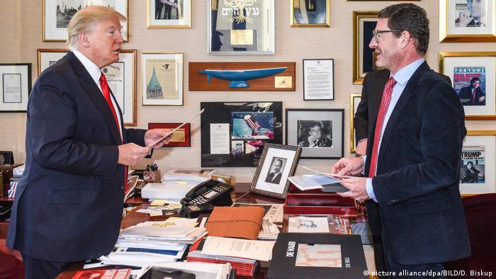 USA Donald Trump im Interview mit Kai Diekmann