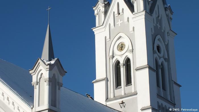 Здание лютеранской церкви в Гродно