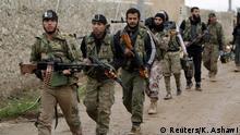 Syrien Rebellen bei Al-Bab