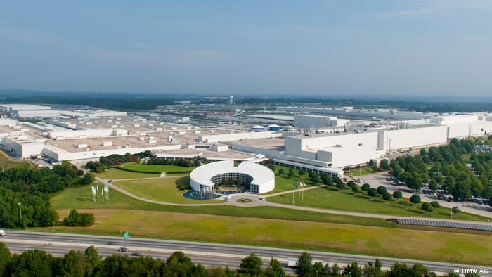 The BMW plant in Spartanburg, South Carolina, is the company's largest, employing 10,000 people