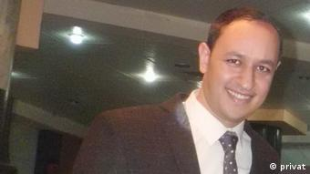 Mohamed Elbanhawy, Sportjournalist aus Ägypten