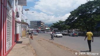 Burundi Straßenszene in Bujumbura