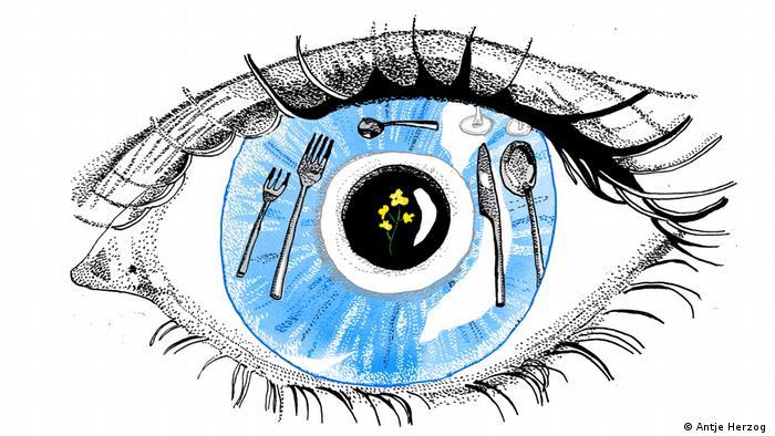 Das Auge isst mit (Antje Herzog)