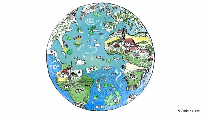 Die Welt ist ein Dorf (Antje Herzog)