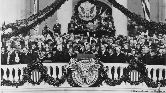 US Präsidenten Amtseinführungen Franklin Delano Roosevelt (Reuters/Library of Congress)