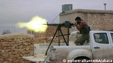 Syrien | Rebellen der Free Syrian Army während der Operation Euphrates Shield in Aleppo