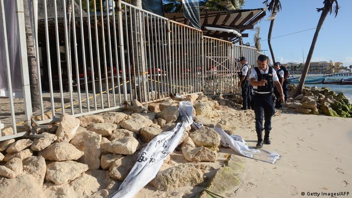 Mexiko Schießerei bei Musikfestival in Playa del Carmen (Getty Images/AFP)