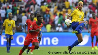 Fußball   Africa Cup 2017   Gabun vs Guniea Bissau